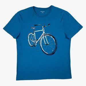 Banana Republic Bicycle Blue T-Shirt